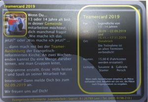 Teamercard